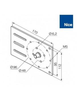 Support moteur Nice Era MH - Réglable - 525.10021