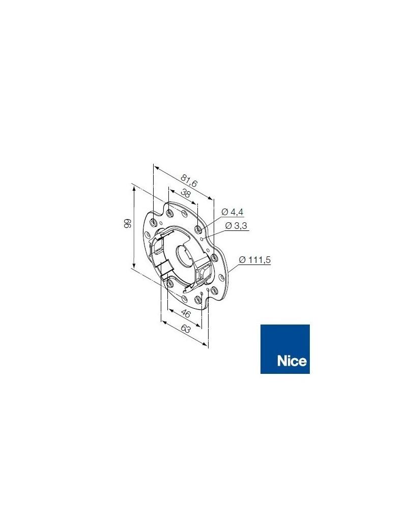 Support moteur Nice Era M - Compact en plastique - 535.10043