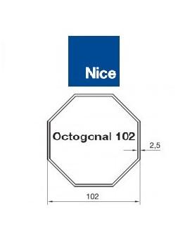 Nice - Bagues moteur Nice Era M - Era MH Octogonal 102 - 515.01020