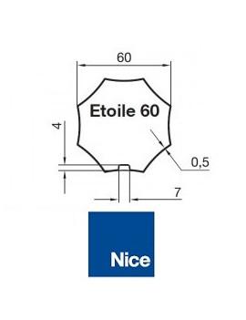 Nice - Bagues moteur Nice Era M - Era MH Étoile 60 - 515.06010