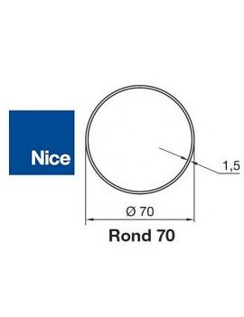 Bagues moteur Nice Era M - Era MH Rond 70x1,5 - 515.27000