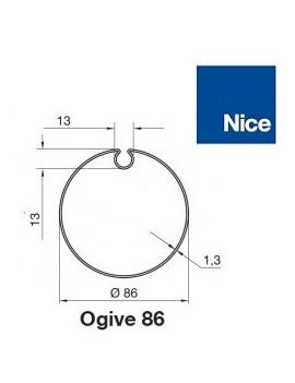 Nice - Bagues moteur Nice Era M - Era MH Ogive 86 - 515.28500
