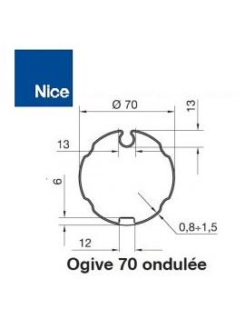 Nice - Bagues moteur Nice Era M - Era MH Ogive 70 ondulé - 515.17000