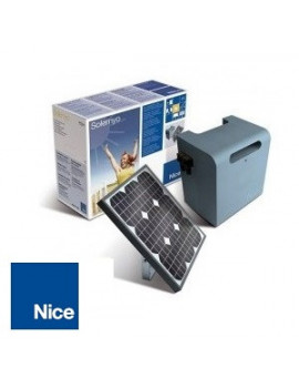 Kit alimentation solaire Nice Solemyo - SYKCE
