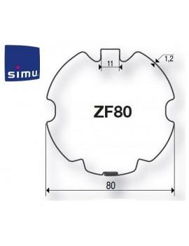 Bagues moteur Simu T5 - Dmi5 ZF 80 - 9521033 - Volet roulant
