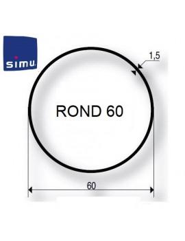 Simu - Bagues moteur Simu T5 - Dmi5 Rond 60 - 9521024 - Volet roulant