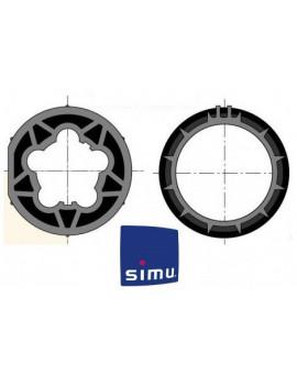 Bagues moteur Simu T5 - Dmi5 Rond 63 - 9521027 - Volet roulant