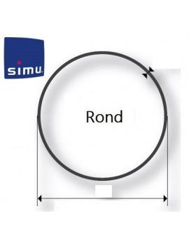 Simu - Bagues moteur Simu T5 - Dmi5 Rond 64 - 9521027 - Volet roulant