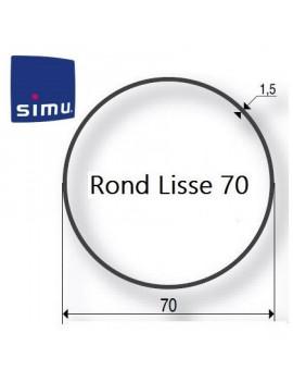 Simu - Bagues moteur Simu T5 - Dmi5 Rond 70 - 9521029 - Volet roulant