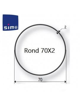 Simu - Bagues moteur Simu T5 - Dmi5 Rond 70x2 - 9521029 - Volet roulant