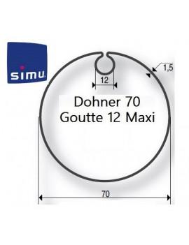 Simu - Bagues moteur Simu T5 - Dmi5 Donher 70 - 9521005 - Volet roulant