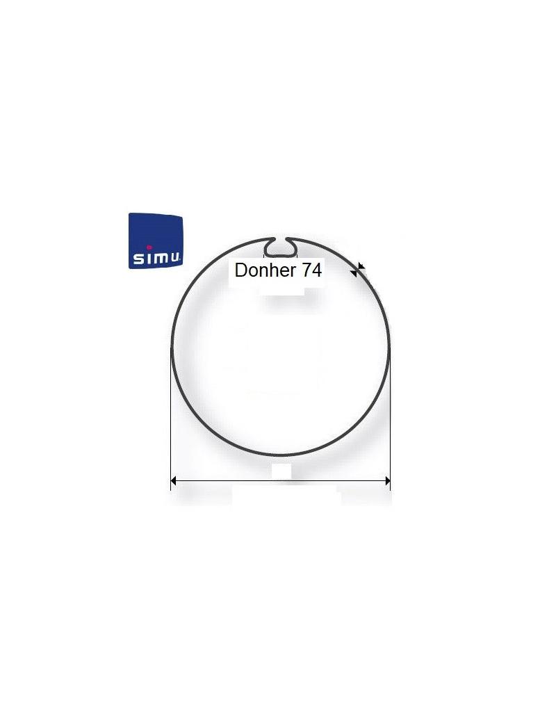 Bagues moteur Simu T5 - Dmi5 Donher 74 - 9521006- Volet roulant