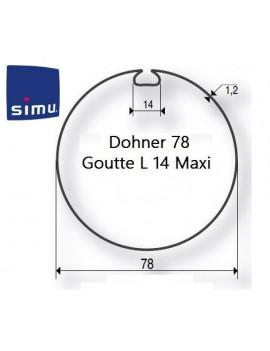 Simu - Bagues moteur Simu T5 - Dmi5 Donher 78 - 9521007- Volet roulant