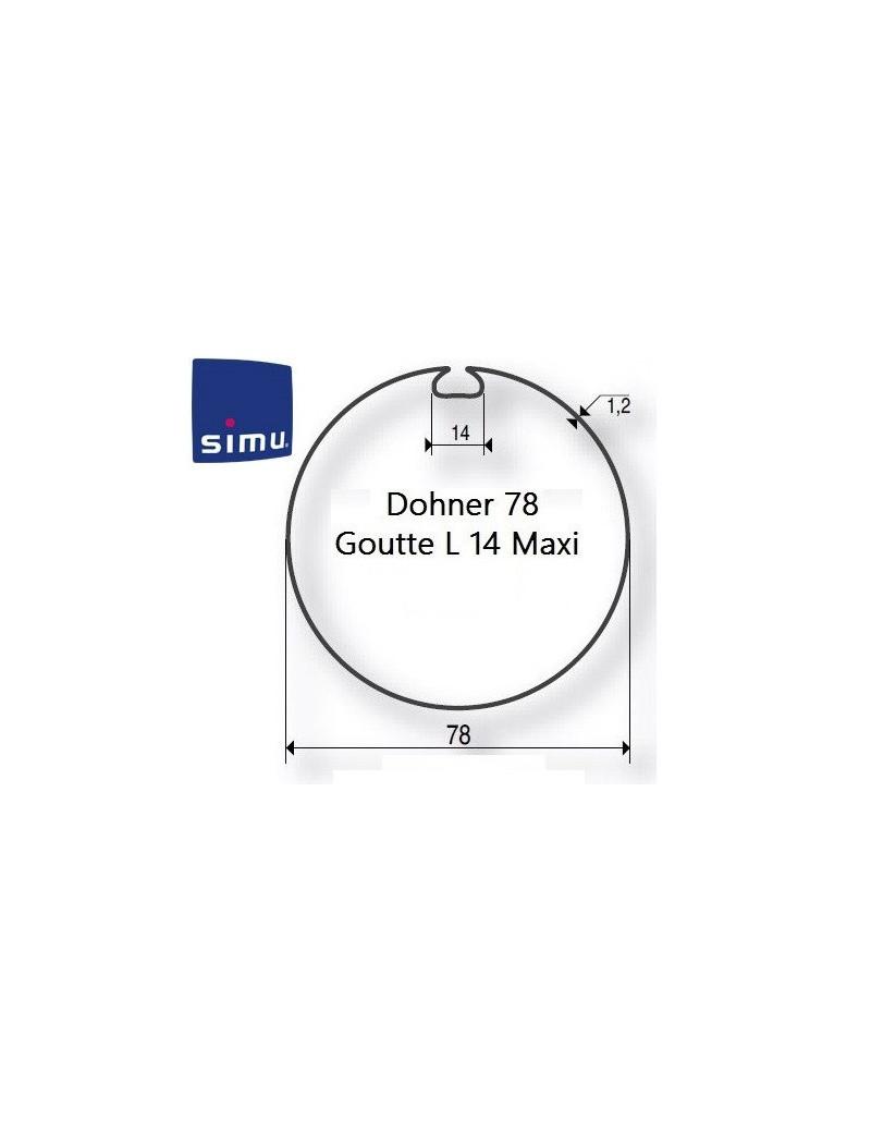 Bagues moteur Simu T5 - Dmi5 Donher 78 - 9521007- Volet roulant