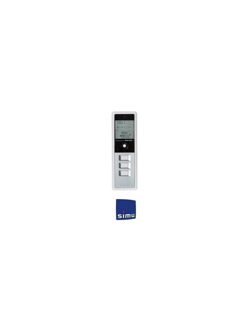 Telecommande Simu Hz Timer Multi Grise - Simu 2007831