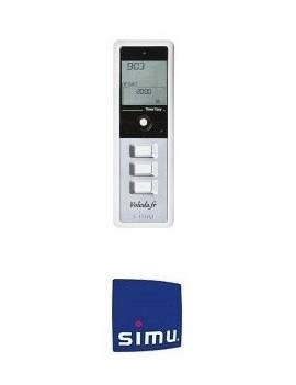 Simu - Telecommande Simu Hz Timer Easy Grise - Simu 2008189