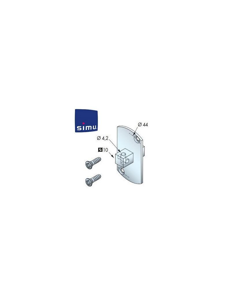 Support moteur Simu T5 - Jonction avec carré - 9013923