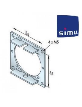 Support moteur Simu T6 - Plaque 100x100 - 9530018