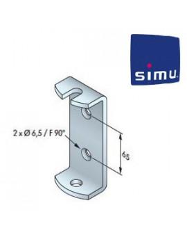 Support moteur Simu T6 - Étrier - 9530040