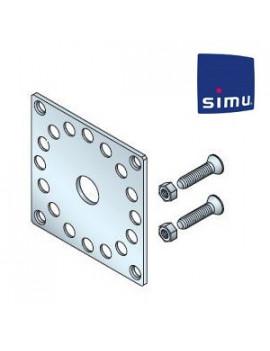 Support moteur Simu DMI6 - Plaque 100x100 - 9706034