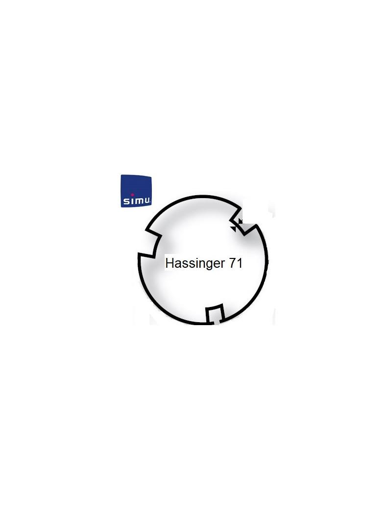 Bagues moteur Simu T5 - Dmi5 Hassinger 71 - 9521010 - Volet roulant