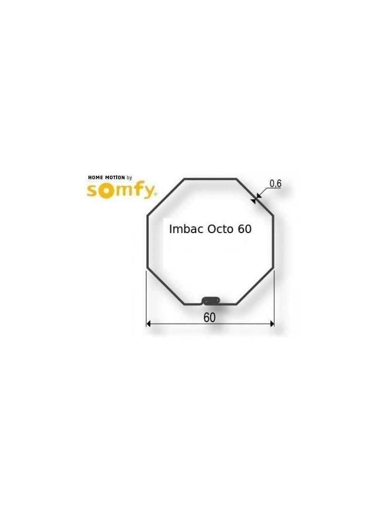 Bagues moteur Somfy LT50 - LT50 CSI Octogonal 60 Imbac - 9410418