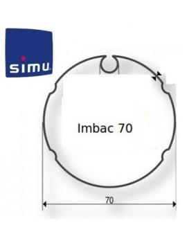 Simu - Bagues moteur Simu T5 - Dmi5 Imbac 70 - 9521000