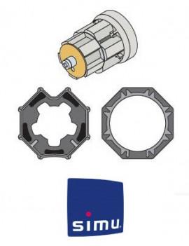 Bagues moteur Simu T5 - Dmi5 Octogonal 60 RD - 9521039
