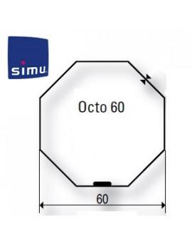 Bagues moteur Simu T5 - Dmi5 Octogonal 60 RG - 9521040