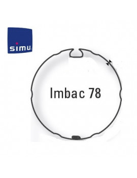 Simu - Bagues moteur Simu T6 - Dmi6 Imbac 78 - 9530115