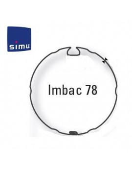 Bagues moteur Simu T6 - Dmi6 Imbac 78 - 9530115