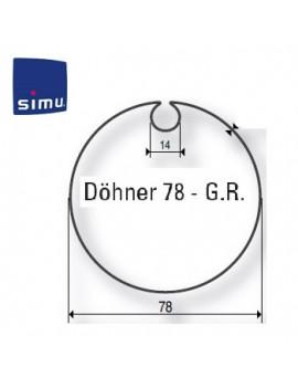 Simu - Bagues moteur Simu T6 - Dmi6 Dohner 78 - 9530107