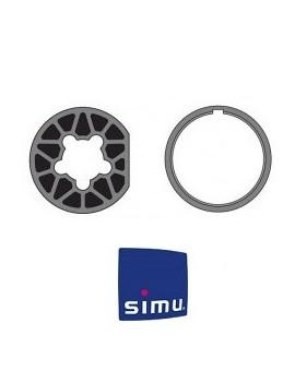 Bagues moteur Simu T6 - Rond 70 - 9530112 - Volet roulant