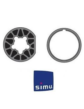 Bagues moteur Simu T6 - Rond 70x2 - 9530113 - Volet roulant
