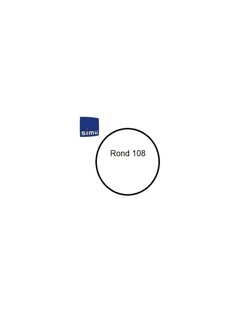 Bagues moteur Simu T6 - Dmi 6 Rond 108 - 9530126 - Volet roulant
