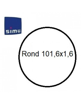 Bagues moteur Simu T6 - Dmi 6 Rond 101,6x1,6 - 9000985 - Volet roulant