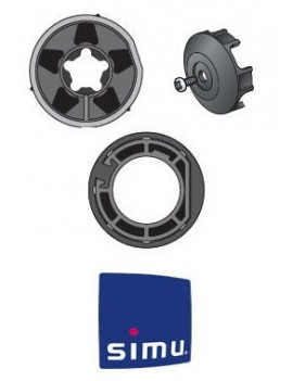 Bagues moteur Simu T6 - Dmi 6 Rond 101,6x3,6 - 9000986 - Volet roulant