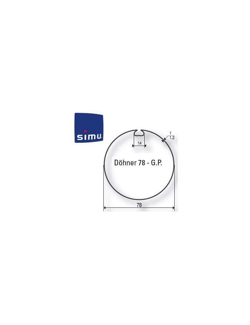 Bagues moteur Simu T6 - Dmi6 Dohner 78 GP - 9530116