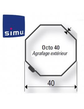 Simu - Bagues moteur Simu T3.5 Octogonal 40 Imbac - 9001481