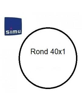 Simu - Bagues moteur Simu T3.5 Rond 40x1 - 9001495