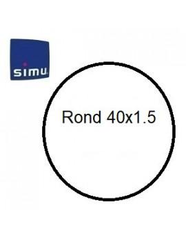 Simu - Bagues moteur Simu T3.5 Rond 40x1.5 - 9001497