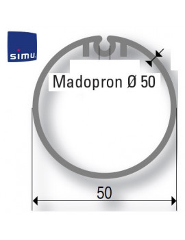 Simu - Bagues moteur Simu T3.5 Madopron 50 - 900149