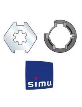 Bagues moteur Simu T3.5 Madopron 50 - 900149