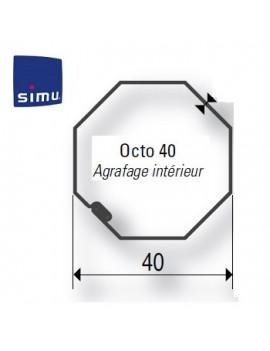 Simu - Bagues moteur Simu T3.5 Octogonal 40 - 9016635