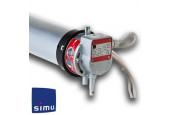 Simu - Moteur grille et rideau metallique Simu T8 M