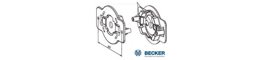 Becker - Supports moteur