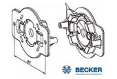Becker - Supports moteur