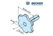 Becker - Supports moteur Becker R